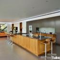 Tủ bếp gỗ công nghiệp – TVN111789
