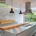 Tủ bếp gỗ công nghiệp – TVN1031