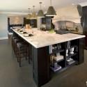 Tủ bếp gỗ tự nhiên – TVN745
