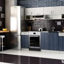 Tủ bếp gỗ công nghiệp – TVN1123
