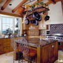 Tủ bếp gỗ tự nhiên – TVN888
