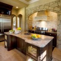 Tủ bếp gỗ tự nhiên – TVN976