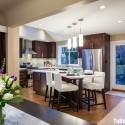 Nội thất Tủ Bếp   Tủ bếp gỗ tự nhiên – TVN367
