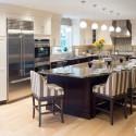 Nội thất Tủ Bếp   Tủ bếp gỗ tự nhiên – TVN388