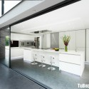 Tủ bếp gỗ công nghiệp – TVN1388