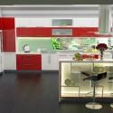 Tủ bếp gỗ công nghiệp – TVN1116