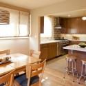 Tủ bếp MDF Laminate + bàn Bar – TVB560
