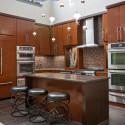 Tủ bếp gỗ công nghiệp – TVN1097