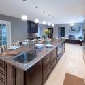 Nội thất Tủ Bếp   Tủ bếp gỗ tự nhiên – TVN361