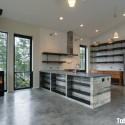 Tủ bếp gỗ tự nhiên  công nghiệp – TVN835