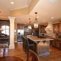 Nội thất Tủ Bếp   Tủ bếp gỗ tự nhiên – TVN397