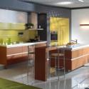 Tủ bếp gỗ công nghiệp – TVN1200