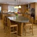 Tủ bếp gỗ tự nhiên – TVN562