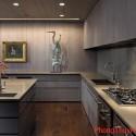 Ứng dụng màu sắc trong phong thủy phòng bếp