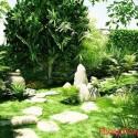 Tăng sinh khí cho nhà ở bằng cây xanh