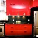 Tủ bếp gỗ công nghiệp – TVN1103