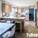 Tủ bếp gỗ công nghiệp – TVN1419