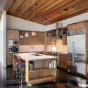 Tủ bếp gỗ công nghiệp – TVN1366