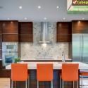 Tủ bếp gỗ công nghiệp – TVN955