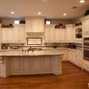 Tủ bếp gỗ tự nhiên – TVN1104