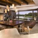 Nội thất Tủ Bếp   Tủ bếp gỗ tự nhiên – TVN344