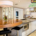 Tủ bếp gỗ công nghiệp – TVN996