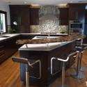 Tủ bếp MDF Laminate + bàn đảo – TVB498