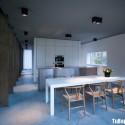 Tủ bếp gỗ công nghiệp – TVN1405
