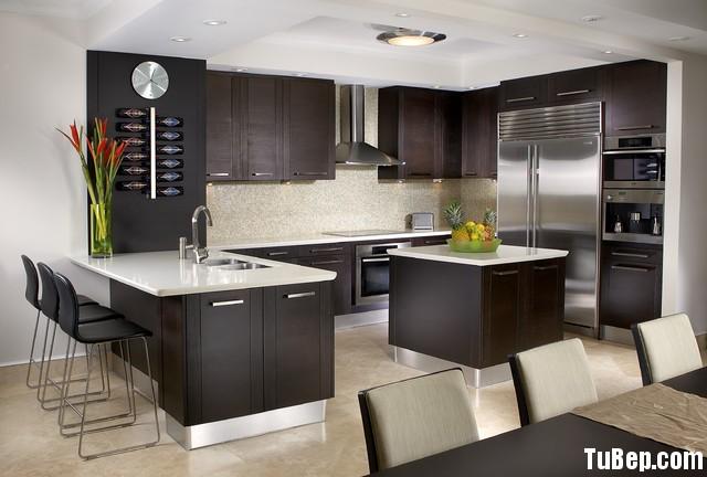 63e52992feep 123.jpg Tủ bếp gỗ Xoan đào tự nhiên sơn men đen hình chữ L có đảo TVT0640