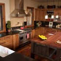Tủ bếp gỗ Tần Bì – TVB380