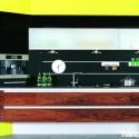 Tủ bếp gỗ công nghiệp – TVN1151