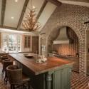 Tủ bếp gỗ tự nhiên – TVN1006