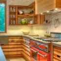 Tủ bếp gỗ công nghiệp – TVN1384