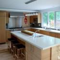 Tủ bếp MDF Laminate   TVB496