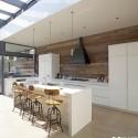 Tủ bếp gỗ công nghiệp – TVN507