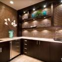 Tủ bếp gỗ công nghiệp – TVN1334