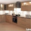 Tủ bếp gỗ MDF Laminate – TVB374