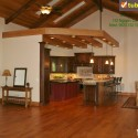 Tủ bếp gỗ tự nhiên – TVN949
