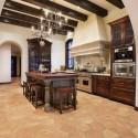 Tủ bếp gỗ tự nhiên – TVN545