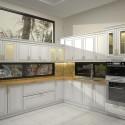 Tủ bếp gỗ tự nhiên  – TVN1171