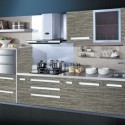 Tủ bếp Laminate chữ I   TVB0965