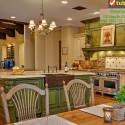 Tủ bếp gỗ tự nhiên – TVN1032