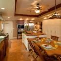 Nội thất Tủ Bếp   Tủ bếp gỗ tự nhiên – TVN380