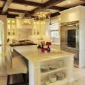 Tủ bếp gỗ tự nhiên – TVN590