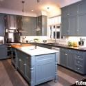 Tủ bếp gỗ tự nhiên – TVN1056