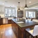 Tủ bếp gỗ tự nhiên – TVN618