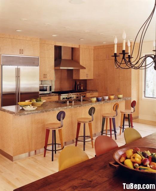 03141ad93fep 139.jpg Tủ bếp gỗ Laminate màu vân gỗ nhạt hình chữ I có đảo TVT0739