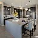 Tủ bếp gỗ tự nhiên – TVN1221