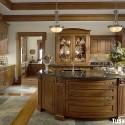 Tủ bếp gỗ óc chó – TVB628