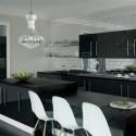 Tủ bếp gỗ công nghiệp – TVN1383